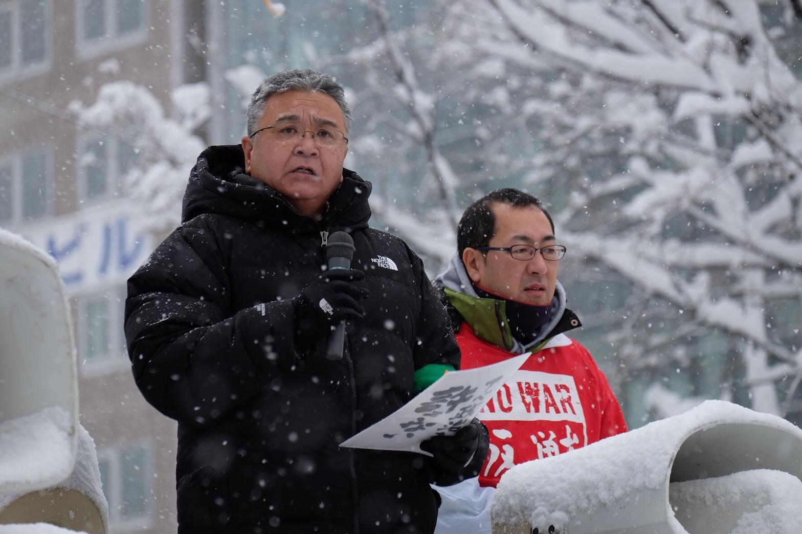 全国3000万筆署名やり抜こう=11.19戦争させない北海道委員会「総がかり行動」