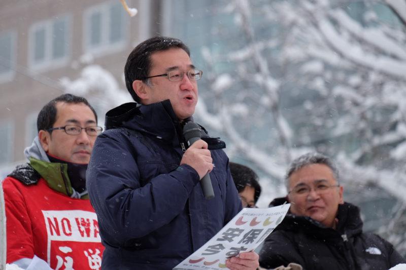 「戦争をさせない北海道委員会」総がかり行動が開催されます。(12月19日)