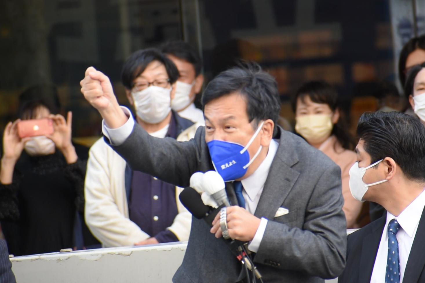 枝野代表が旭川&札幌にキターー(゚∀゚)ーー!!=立憲民主党・街頭演説が開かれる